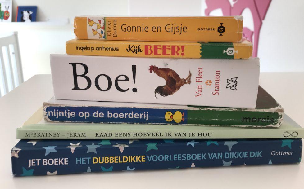 Mijn favo boeken voor dreumissen