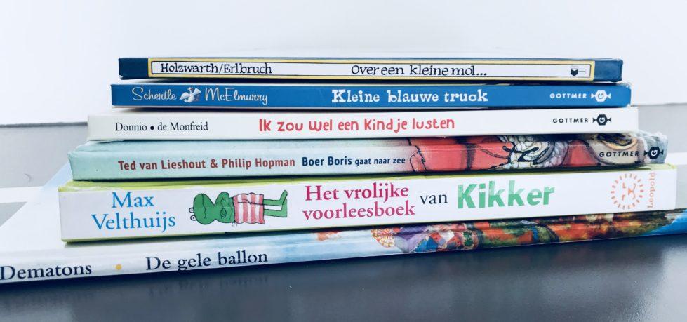 Mijn favo boeken voor kleuters